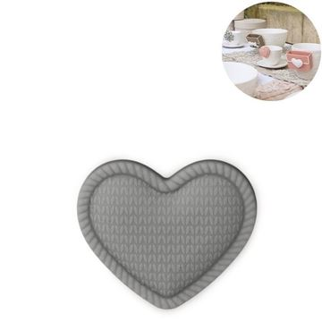 Picture of Cup Accessory Heart Grey