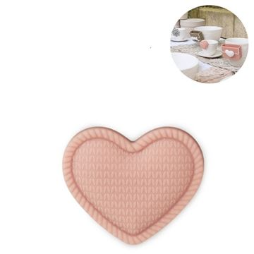 Picture of Cup Accessory Heart Peach