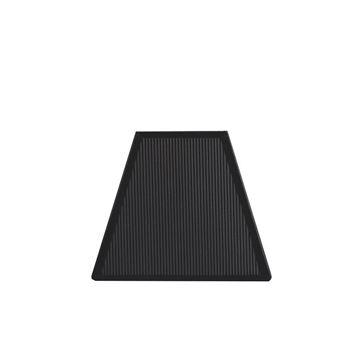 Resim Siyah File Abajur Şapkası H:17 cm