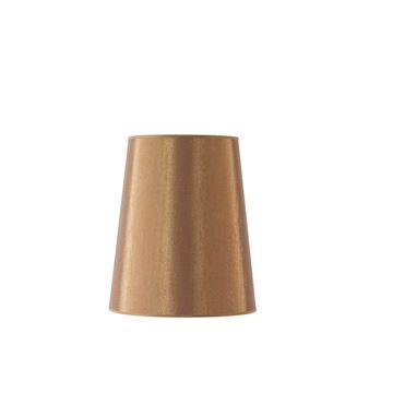 Resim Bronz Abajur Şapkası H:35 cm