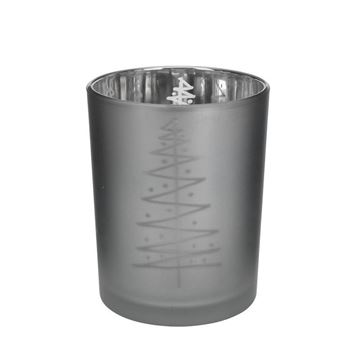 Picture of Candle Holder 8 cm Dark Grey