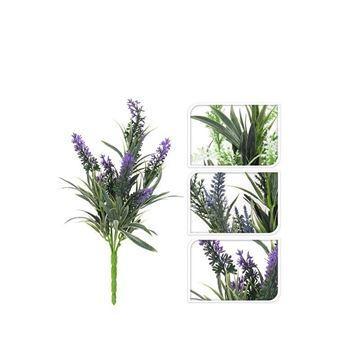 Resim Yapay Çiçek Mor S-15 cm