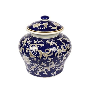 Picture of Vase Navy Blue