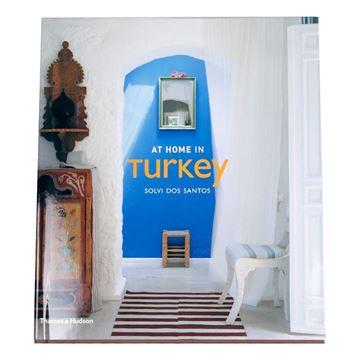 Resim At Home In Turkey Dekoratif Kitap