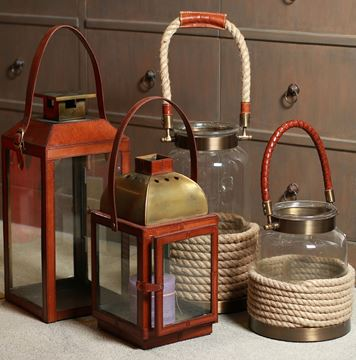 Picture of Leather Lantern