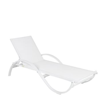 Picture of Wave Sunbed White