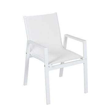 Picture of Santea 2 Armchair White