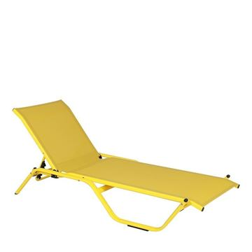 Picture of Rhodes Sunbed Yellow