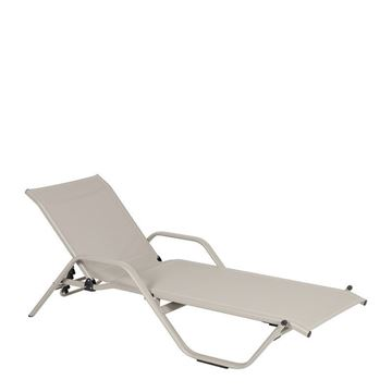Picture of Rhodes Sunbed Witharm Beige