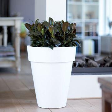 Picture of Pure Round Pot White 45x55 cm