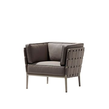 Picture of Conic Lounge Brown Armchair