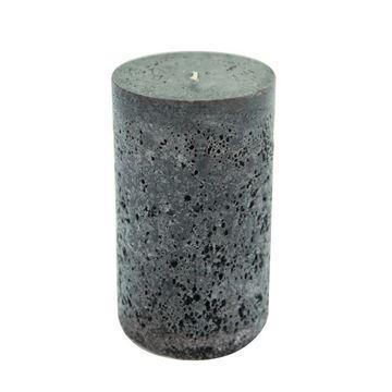 Resim Mum 15 cm Koyu Siyah