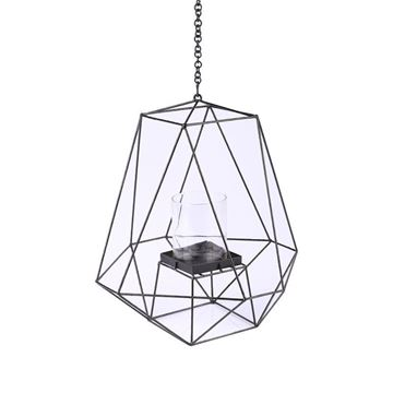 Picture of Candle Holder Ceiling Lamp H:46 cm Black