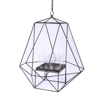Picture of Candle Holder Ceiling Lamp H:67 cm Black