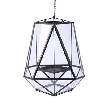 Picture of Ceiling Lamp Candle Holder H:64 cm Black