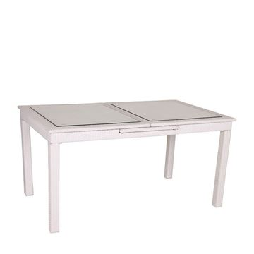 Picture of Dining Table White 160/210 cm