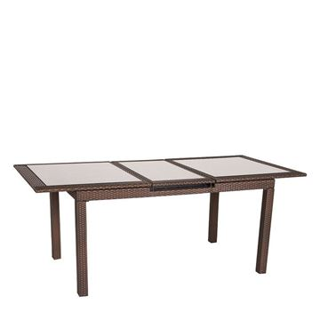 Picture of Dining Table Brown 160/210 cm