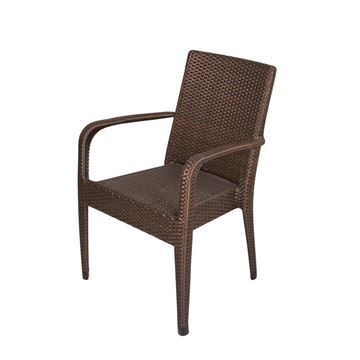 Picture of Stackable Armchair Brown