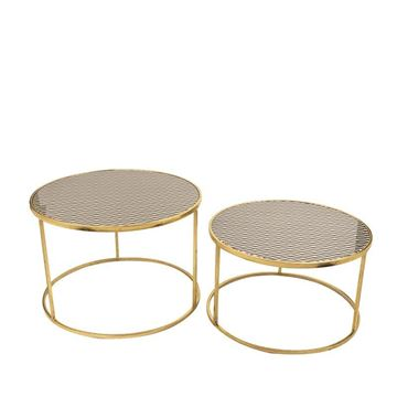 Picture of Gold Round 2- Side Table