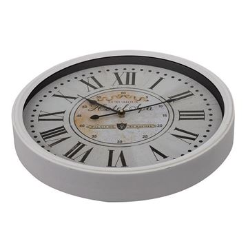 Picture of Beige Roman Numeral Wall Clock 48x48 cm