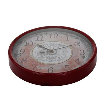 Picture of Claret Red Wall Clock 48x48 cm
