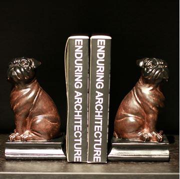 Resim Kitap Tutacağı Köpek Figür H:20.5 cm