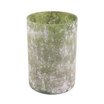 Resim Mumluk Yeşil  H:19 cm