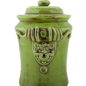 Picture of Handmade Antique Ceramic Green Vase H:30,5 cm