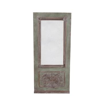Picture of Green Mirror Wooden Frame