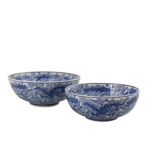 resm Seiko Mavi-Beyaz Kase Q:30 cm