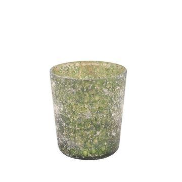 Resim Mumluk Yeşil  H:13 cm
