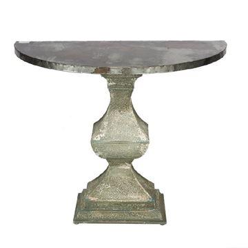 Resim Yarım Ay Pedestal  Konsol H:79 cm