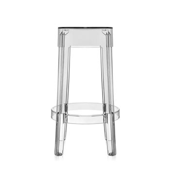 Picture of Charles Ghost Stool Transparent H:46 cm