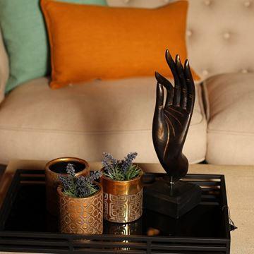 Resim Vazo Altın Renk