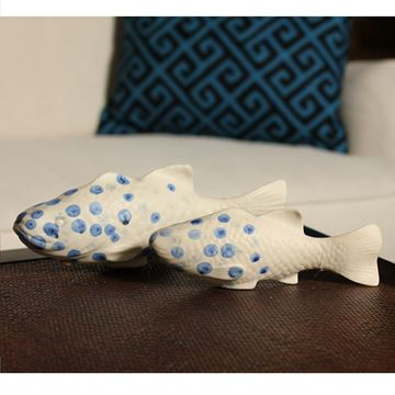 Picture of Fish Decorative Object 30x9 cm