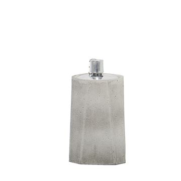 Picture of Oil Lamp Natural White13x24 cm