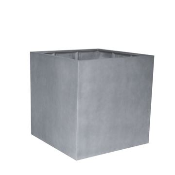 Picture of Fiber Pot Square Natural Grey 90x90 cm