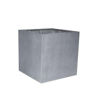 Picture of Fiber Pot Square Natural Grey