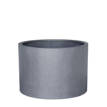 Picture of Fiber Pot Round Natural Grey 70x50 cm