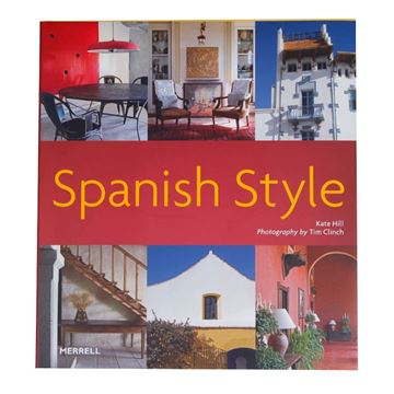 Picture of Spanish Style Decorative Book