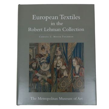 Resim Robert lehman European Textiles Dekoratif Kitap