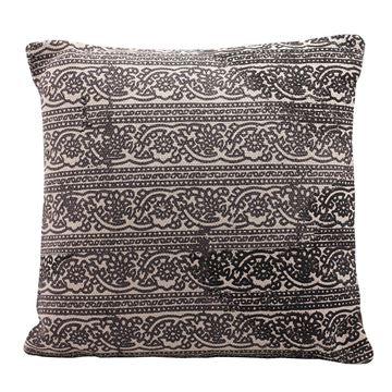 Resim India Gri Yastık-C 45cm