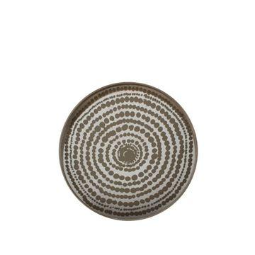 Resim Tepsi Ahşap Aynalı Beads Q:61 cm