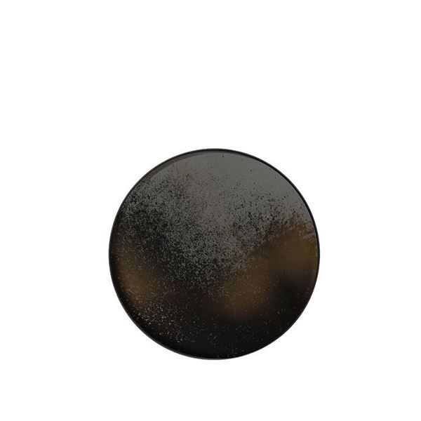 resm Tepsi Ahşap Bronz Aynalı Q:92 cm
