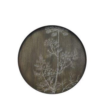 Resim Tepsi Ahşap Krem Driftwood Stil Q:92 cm