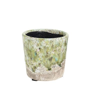 Picture of Vase/Pot Green H:12 cm