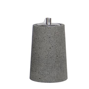 Resim Ficonstone Yağ Lambası Gri H:22.5 cm