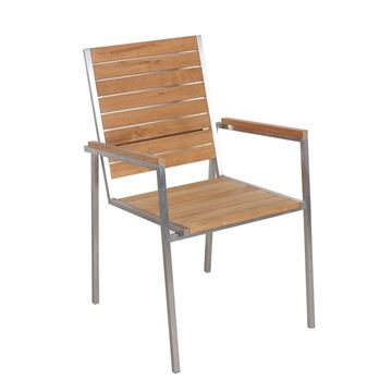Picture of Armchair Teak
