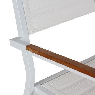 Resim Kollu Sandalye Beyaz