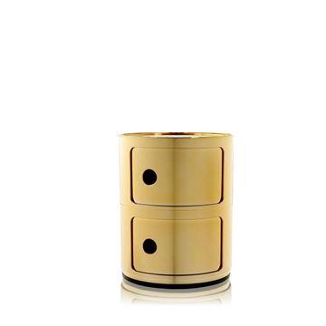 Resim Componibili 2 Çekmeceli Modül Gold